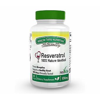 Resveratrol (ResVida) 100 mg (60 Softgels) - Health Thru Nutrition