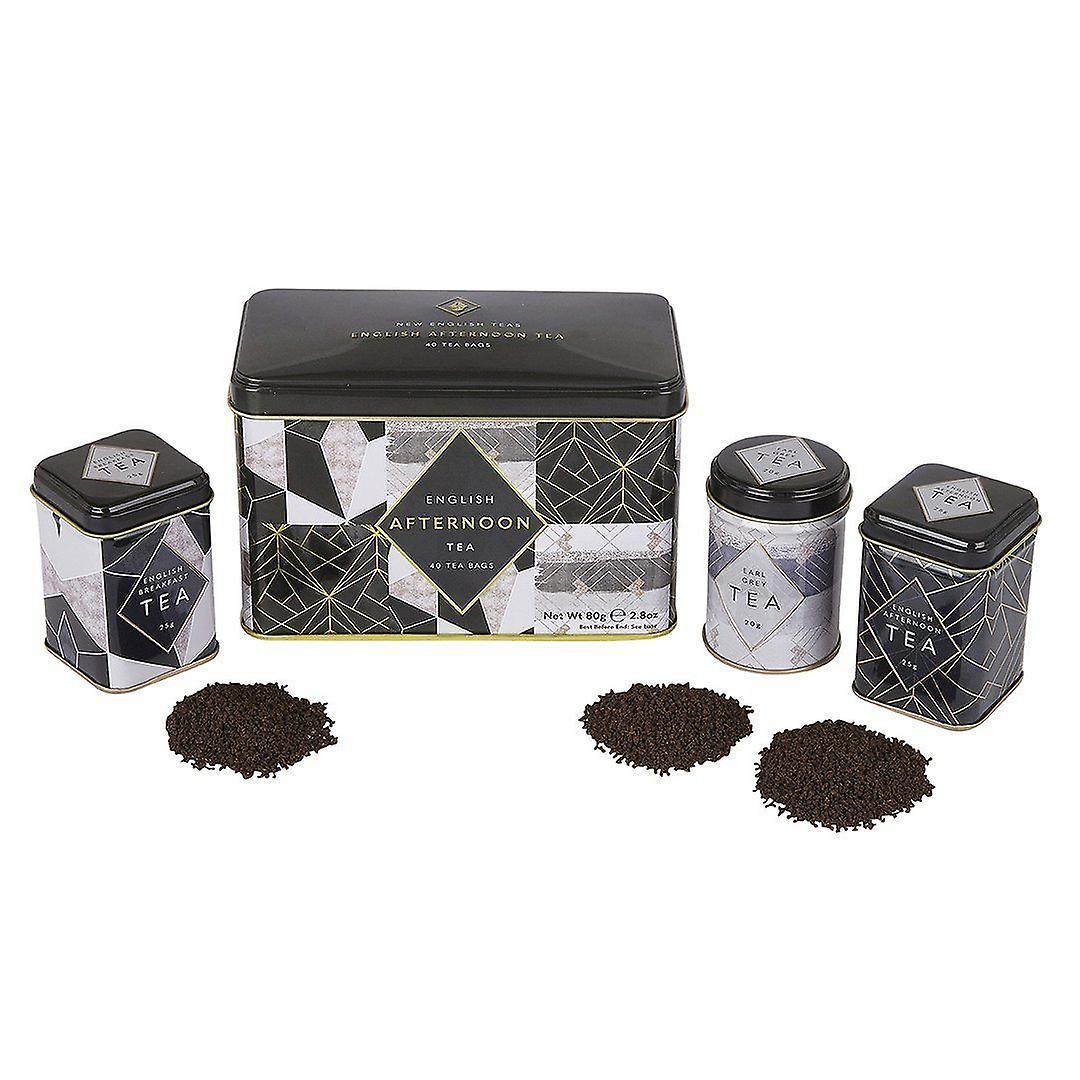 Art deco english tea gift set