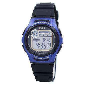 Casio Juventud Digital 5 Alarmas Iluminador W-213-2AVDF W213-2AVDF Hombres's Reloj