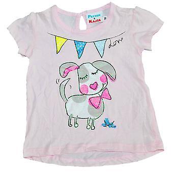 T-shirt med Hund Petter & Kajsa, 62 cl