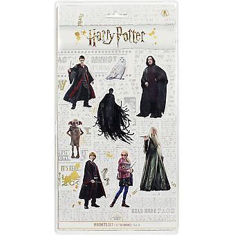 Harry Potter Magnetset A Filmcharaktere 8-teilig, bedruckt, 100 % Kunststoff, in Blisterverpackung.