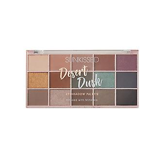 Sunkissed Desert Dusk Eyeshadow Palette Infused with Minerals - 15 x 1.7g Eyeshadow