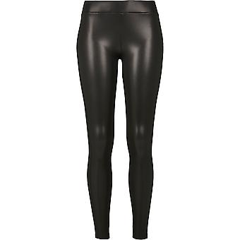 Urban Classics Women's Leggings Faux Leather