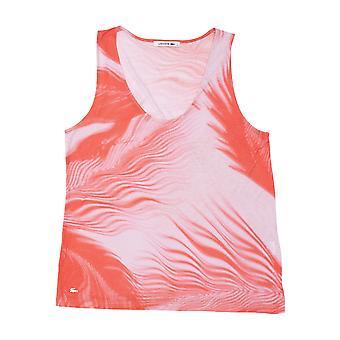 Rosa Lacoste Damen T-shirt