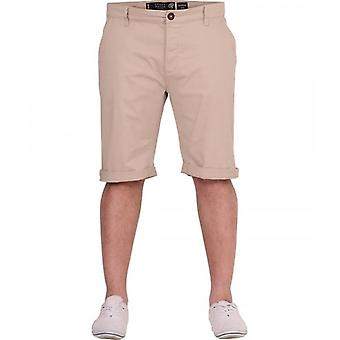 Crosshatch Mens Chinos Shorts Brave Soul Plain Cotton Smart Casual Summer Holiday Short