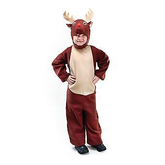 布里斯托尔新奇儿童/儿童驯鹿服装
