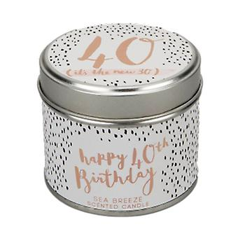 Luxe 40th Birthday Scented Candle| Gifts from Handpicked