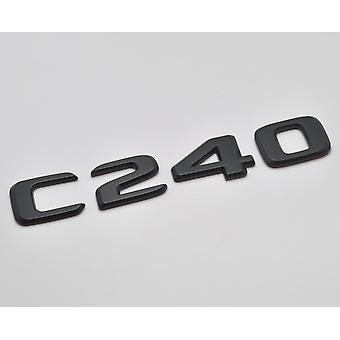 Mat Zwart C240 Flat Mercedes Benz Auto Model Numbers Letters Badge Emblem For C Class W202 W203 W204 W205 AMG