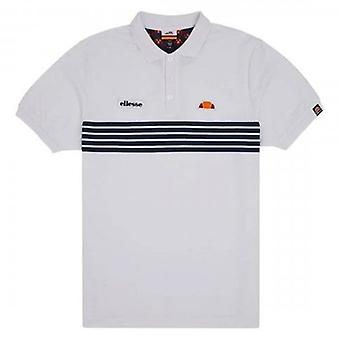 Ellesse Vanni Polo T-Shirt White