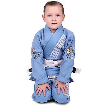 Tatami Fightwear Meerkatsu bambini animale BJJ Gi - blu cielo