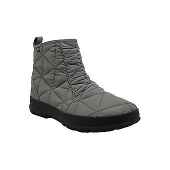 Bogs Womens Snowday Low Fabric Closed Toe Ankle Cold Weather Boots