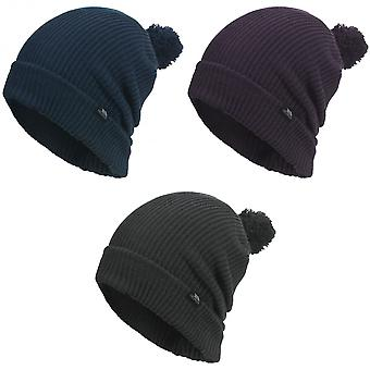 Trespass Mens Karev a maglia cappello di inverno Slouch