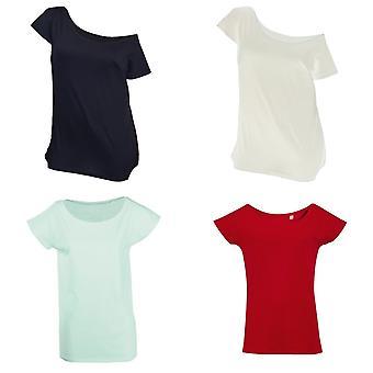 الأراضي النسائي/السيدات مارلين طويلة طول القميص
