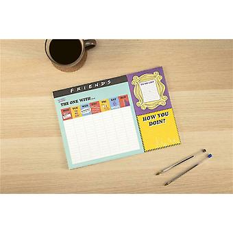 Friends TV Sitcom A3 Desk Planner Note Book Organiser Study Office To Do List