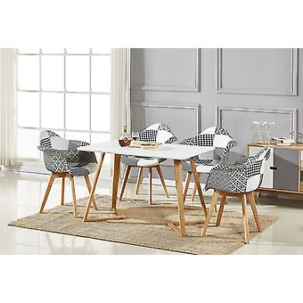 Chrono Patchwork Dallas Dining Set