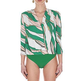 Elisabetta Franchi Cb11002e2x10 Damen's Multicolor Viskose Body