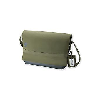Moleskine messenger bag mycloud Green voor digitale apparaten tot 15""