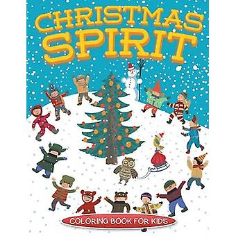 Christmas Spirit Christmas coloring book for children by Masters & Neil