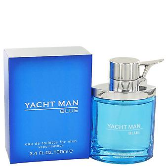 Yacht man blue eau de toilette spray di mirurgia 498682 100 ml