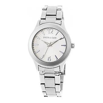 Ladies'Watch Devota & Lomba DL001W-01WHITE (36 mm) (Ø 36 mm)
