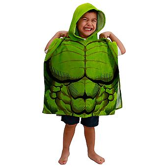 Marvel Incredible Hulk Youth Hooded Poncho Towel