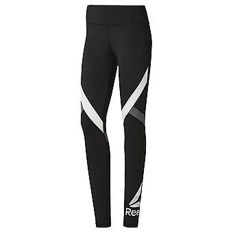 Reebok Wor Big Delta DU4725 fitness ympäri vuoden naisten housut