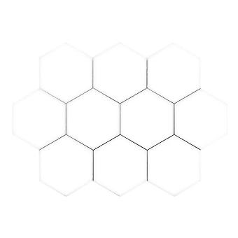 Hexagon Wall Lighting - 10 Modules