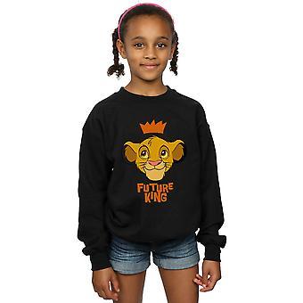 Disney Tytöt Leijona Kuningas Simba Tulevaisuus King Collegepaita