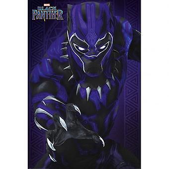 Black Panther Poster Glow 148