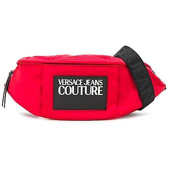 Versace jeans couture red belt bag womens red