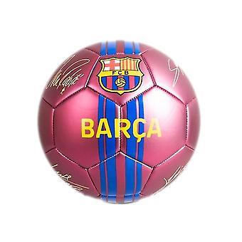 نادي برشلونة مات طباعة التوقيع لكرة القدم