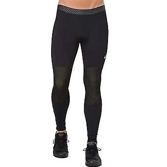 Asics Mens Running Exercise Fitness Compression Baselayer Legging Tight Black