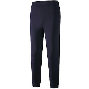 Allthemen Men's Solid Elastic Casual 9 cents Pantalon