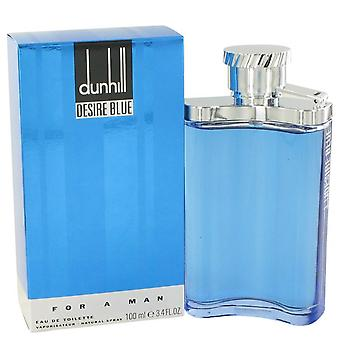 Deseo Blue Eau De Toilette Spray por Alfred Dunhill 3.4 oz Eau De Toilette vaporizador