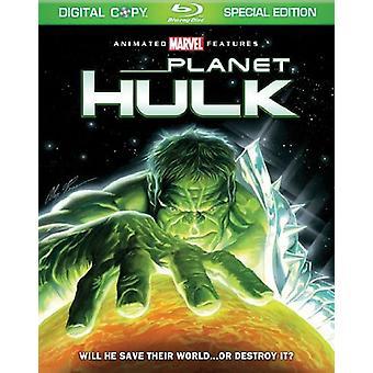 Planet Hulk [BLU-RAY] USA importeren