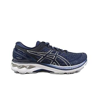 Asics Gel-Kayano 27 Peacoat/Piedmont Grey Mesh Mens Lace Up Running Trainers