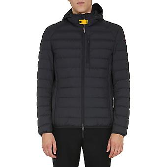 Parajumpers Pmjcksl02p36541 Men's Black Polyester Down Jacket