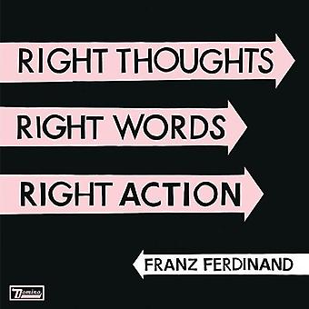 Franz Ferdinand - Right Thoughts Right Words Right Action [Vinyl] USA import