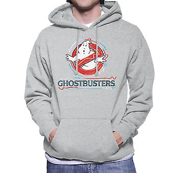 Ghostbusters Drawn Logo Men's Hooded Sweatshirt