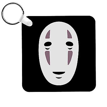 No Face Mask Studio Ghibli Spirited Away Keyring