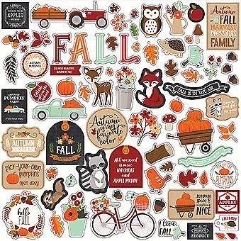 Echo Park My Favorite Fall 12x12 Inch Element Sticker