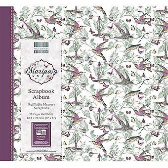 Primera Edición Mariposa 8x8 Pulgadas Album