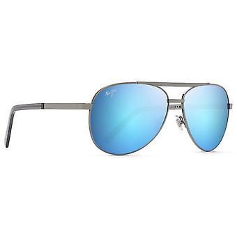 Maui Jim Seacliff B831 02D Gunmetal/Blue Hawaii Zonnebril