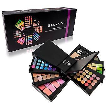 The SHANY Beauty Cliche - Makeup Palette - Ensemble de maquillage tout-en-un avec fards à paupières, poudres pour le visage et fards à joues
