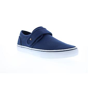 Lugz Voyage II  Mens Blue Canvas Lifestyle Sneakers Shoes