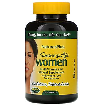 Nature's Plus, Source of Life, Women, Multi-Vitamin and Mineral Supplement with