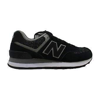 New Balance Womens WSW574PMD Fabric Low Top Lace Up Fashion Sneakers