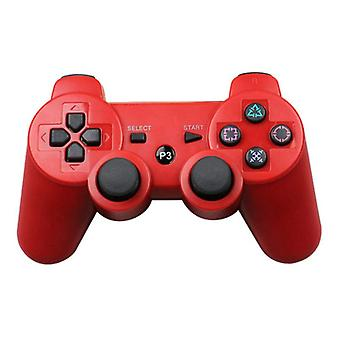 Stuff Certified® Gaming Controller for PlayStation 3 - PS3 Bluetooth Gamepad Red