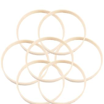 Embroidery Hoop Bamboo Circle Round Wooden Diy Art Craft Cross Stitch Tools