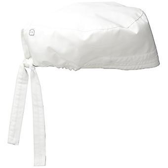 WonderWink Men's Wonderwork Unisex Scrub Cap, White, One Size